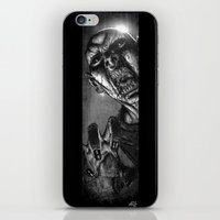 zombie iPhone & iPod Skins featuring Zombie by Andrea Mangiri