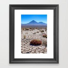 Chile to Bolivia Framed Art Print