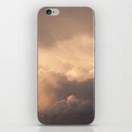 Sunset Clouds iPhone Skin