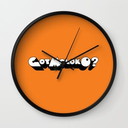Got Moloko? Wall Clock