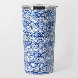 China fan Lt Blue Travel Mug