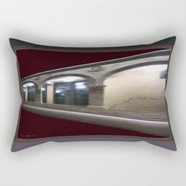Imaginary Corridors Rectangular Pillow