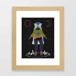 Witch Series: Seance Framed Art Print