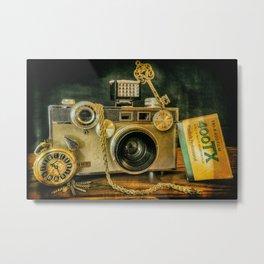 Argus Vintage Camera Metal Print