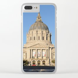 San Fransisco City Hall Clear iPhone Case