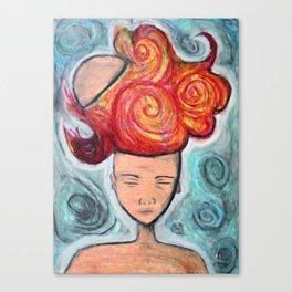 Cerebral Outburst Canvas Print