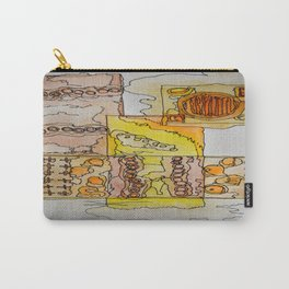 Abstract Water Color Carry-All Pouch