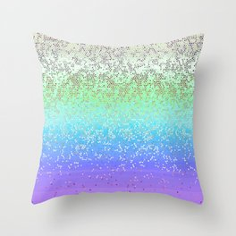 Glitter Star Dust G242 Throw Pillow
