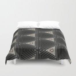 Triangles of Light Duvet Cover