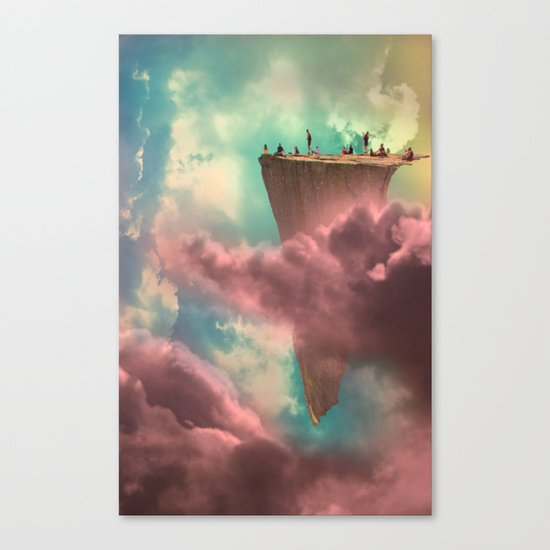 The Fiscal Cliff Canvas Print