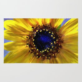 Sunflower Azul Rug