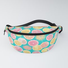 Juicy Grapefruit Slices Fanny Pack