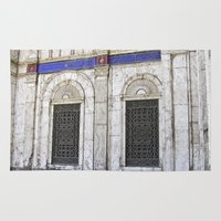 ali gulec Area & Throw Rugs featuring Sultan Ali Mosque - Cairo by CAPTAINSILVA