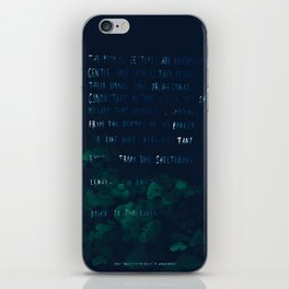 """""""Conquest of the Useless"""" by Werner Herzog iPhone Skin"""