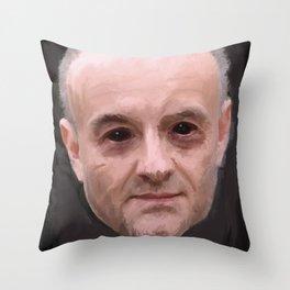 Demonic Cummings: The Soulless Ghoul Throw Pillow