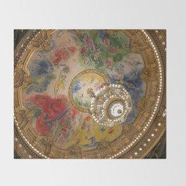 Opera Garnier Paris Throw Blanket