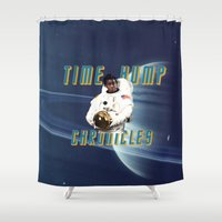 oitnb Shower Curtains featuring Time Hump Chronicles by Zharaoh