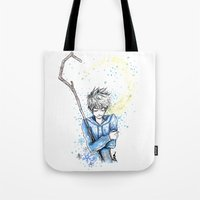 jack frost Tote Bags featuring Frost by ShinArk