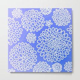 Periwinkle blue or purple Metal Print