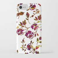 rose gold iPhone & iPod Cases featuring Rose Gold by Stevyn Llewellyn
