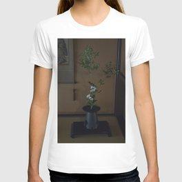 Japanese Ikebana Flower Arrangement T-shirt