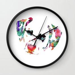 Delilah the Dalmatian Wall Clock