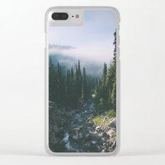 Washington III Clear iPhone Case