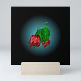 Carolina Reapers Disc. Mini Art Print