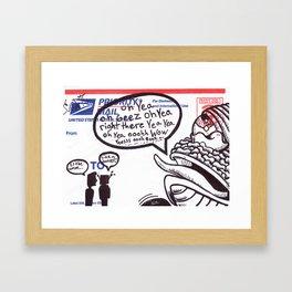 Oh Wow Framed Art Print