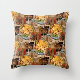 The good things in life.. Throw Pillow
