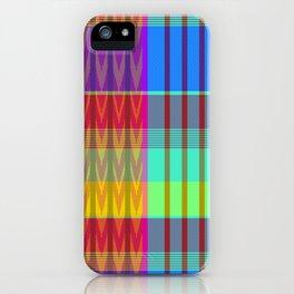 MADRAS PLAIDRAS iPhone Case