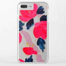 First Bloom Clear iPhone Case