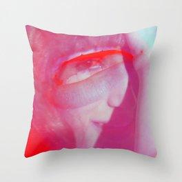 Linda Scott's Minty Eye Throw Pillow