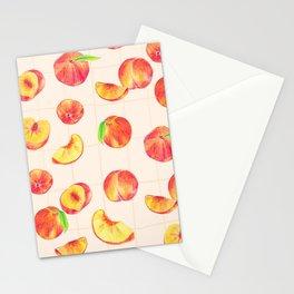 Nectarine Pattern Stationery Cards