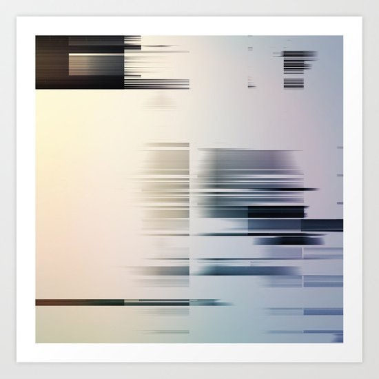Lines/C7C Art Print