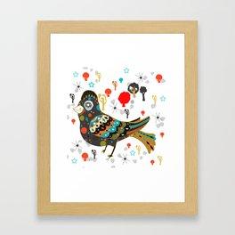 pretty lark Framed Art Print