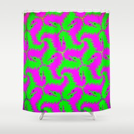 little dragons Shower Curtain