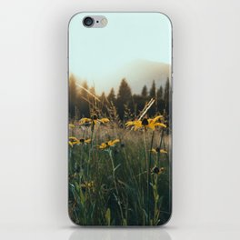 Daisy Meadow in Yosemite iPhone Skin