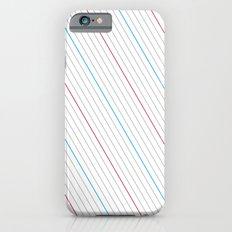 Simple Lines iPhone 6s Slim Case