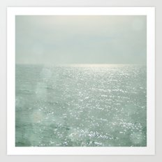 The Silver Sea Art Print