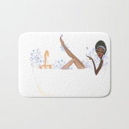 Ebony's Bubble Bath Bath Mat