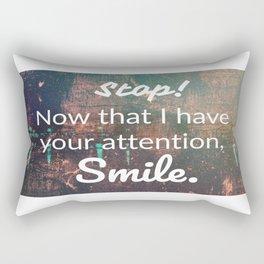 smile... Rectangular Pillow