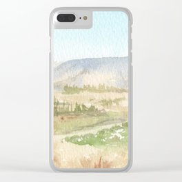 The Golan Heights - WC150615-12b Clear iPhone Case