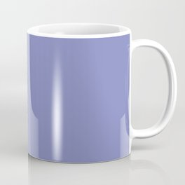 Deep Periwinkle Color Accent Coffee Mug