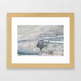Pamukkale Framed Art Print