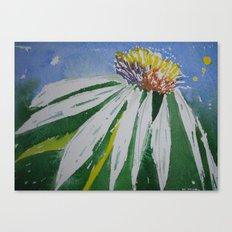 Single daisy Canvas Print