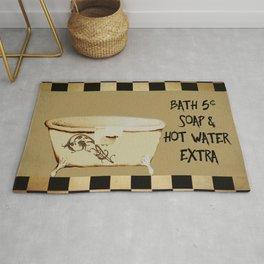 Bath 5 cents Bathroom Art Rug