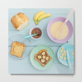 Fench toast breakfast Metal Print