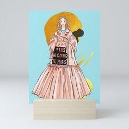 F*this I'm going to Paris 1 Viktor&Rolf Mini Art Print