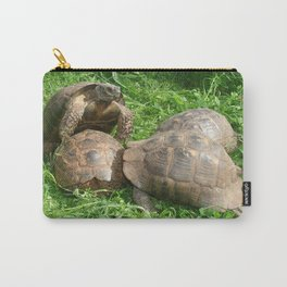 Bullied into Submission - Mating Tortoises Carry-All Pouch